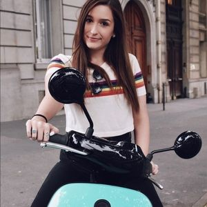 Urban Outfitters Rainbow Top
